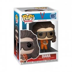 V Diana Con Gafas Y Roedor POP Funko 1057
