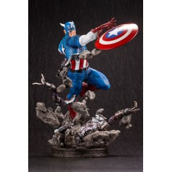 Figura Capitán América Fine Art Statue Kotobukiya