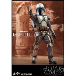 Figura Jango Fett Star Wars Episodio II El Ataque de los Clones Hot Toys