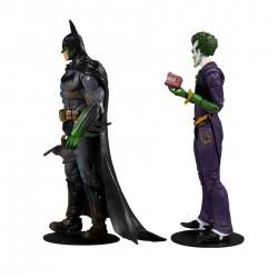 Pack Figuras Batman y Joker Arkham Asylum McFarlane Multiverse DC Comics