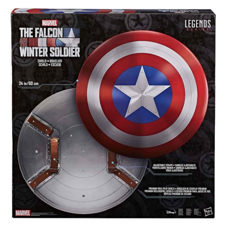 Escudo Capitán América Replica 1:1 Marvel Legends Serie The Flacon And The Winter Soldier