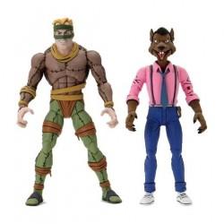 Pack Figuras Rat King y Vernon Tortugas Ninja Neca