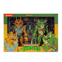 Pack Figuras Capitán Zarax y Zork Cartoon Tortugas Ninja Neca