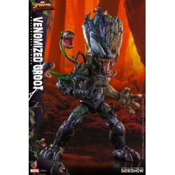 Imagén: Figura Venomized Groot Maximum Venom Hot Toys Escala 1:6