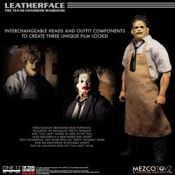 Figura Deluxe LeatherFace La Matanza De Texas The One:12 Mezco