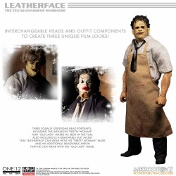 Figura Deluxe LeatherFace La Matanza De Texas The One:12 Mezco