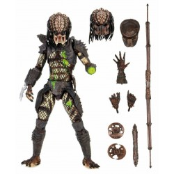Figura Predator 2 Ultimate Battle Damaged City Hunter Neca Depredador