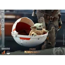 Figura The Child Baby Yoda Escala 1/4 Hot Toys Star Wars