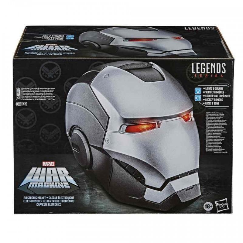 Casco War Machine Gear Replica 1:1 Marvel Legends