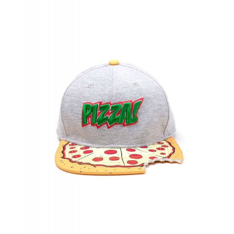 Gorra Tortugas Ninja Pizza Snapback with Cut Out