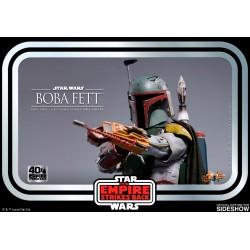 Figura Boba Fett Star Wars El Imperio Contraataca 40 Aniversario Hot Toys