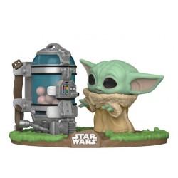 The Child Baby Yoda Con Recipiente De Huevos Funko Pop Deluxe The Mandalorian 407