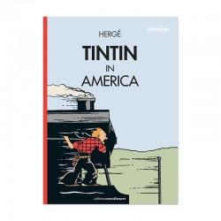 Tintin in America (Cubierta Locomotora. En inglés)