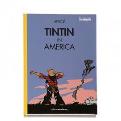 Tintin in America (Cubierta Bostezo. En inglés)