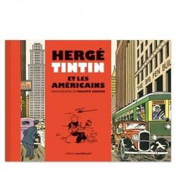 Tintín, Hergé et les américains