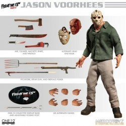 Figura Jason Voorhees Viernes 13 Parte 3 The One:12 Collective Mezco
