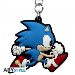 Llavero PVC Sonic Corriendo