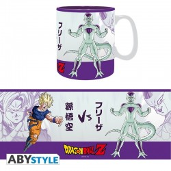 pack de taza king size y posavasos Dragon ball z Goku vs frieza