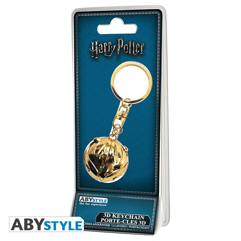 Llavero Harry Potter Snitch dorada