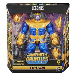 Figura Thanos Deluxe The Infinity Gauntlet Marvel Legends Hasbro