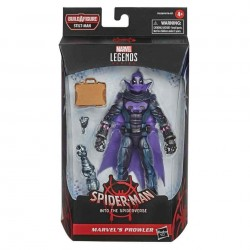 Imagén: Figura Prowler Spiderman Un Nuevo Universo Marvel Legends