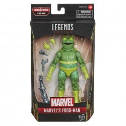 Figura Frog-Man Hombre Rana Marvel Legends