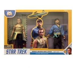 Star Trek Pack de 2 Figuras Mirror Universe Spock & Kirk 20 cm