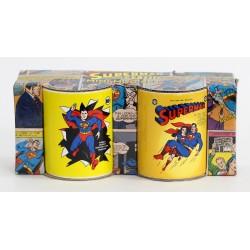 Juego de Dos Tazas de Café Superman Clásico. Superman y Lois Lane