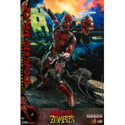Figura Zombie Deadpool Hot Toys