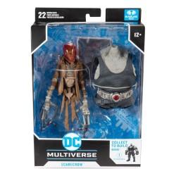 Figura Espantapájaros Batman el último caballero de la tierra (build a figure) DC Multiverse McFarlane Toys