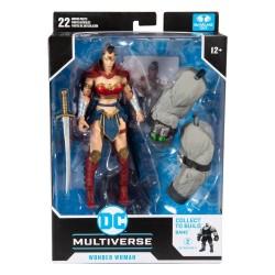 Figura wonder woman Batman el último caballero de la tierra (build a figure) DC Multiverse McFarlane Toys