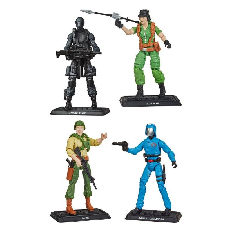 Pack 6 Figuras G.I. Joe Retro Collection Series 10 cm 2021 Wave 1