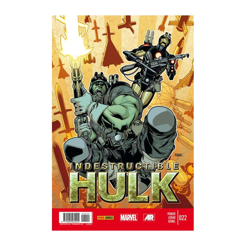 Indestructible Hulk 22