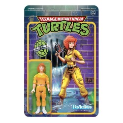 Figura April O´Neil Tortugas Ninja ReAction Super7
