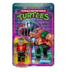 Figura Bebop Tortugas Ninja ReAction Super7