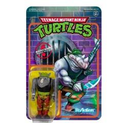 Figura Rocksteady Tortugas Ninja ReAction Super7