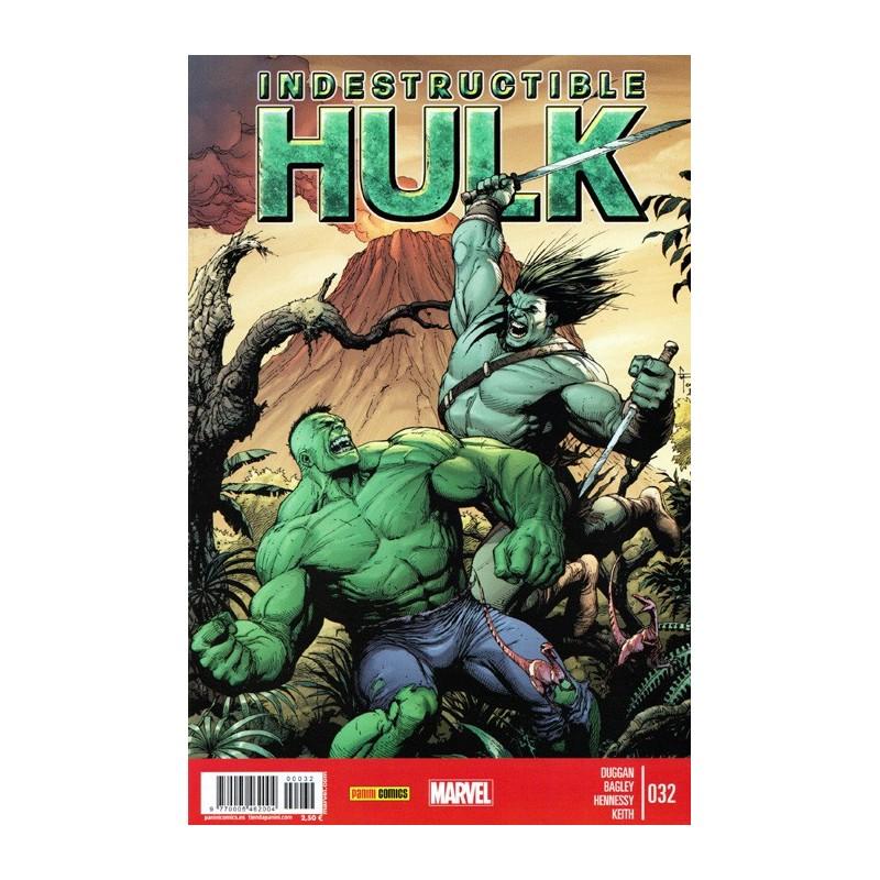 Indestructible Hulk 32