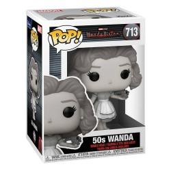 WandaVision Wanda en Blanco y Negro Años 50 Marvel POP Funko