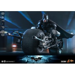 Bat-Pod Batman The Dark Knight Rises Hot Toys Escala 1/6