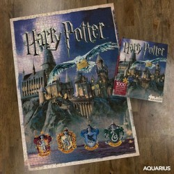 Puzzle Harry Potter Hogwarts 1000 Piezas