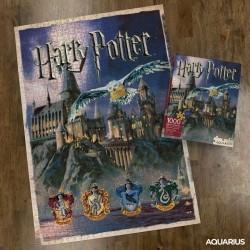 Imagén: Puzzle Harry Potter Hogwarts 1000 Piezas