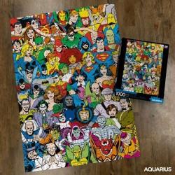 Imagén: Puzzle DC Comics Retro José Luís García López 1000 Piezas