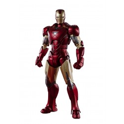 Figura Iron Man MK-6 Battle Of New York Edition Vengadores SH Figuarts Bandai