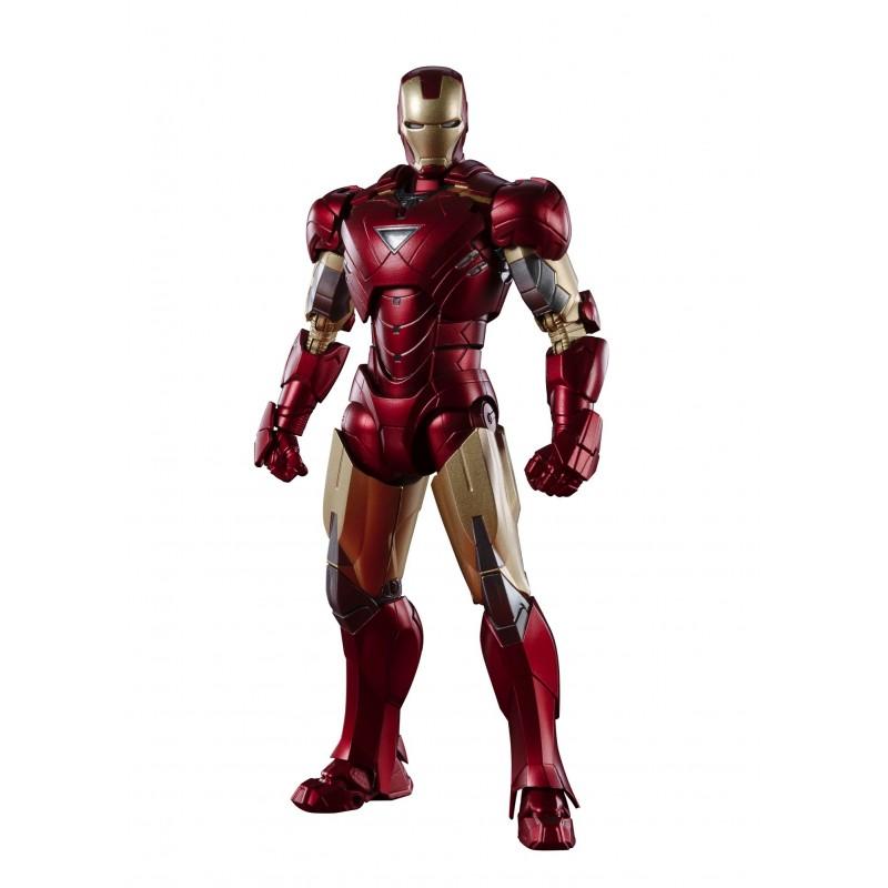 Figura Iron Man MK-6 Battle Of New York Edition Vengadores SH Figuarts Bandai