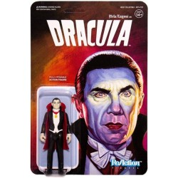 Figura Drácula Universal Monsters Bela Lugosi ReAction Super7
