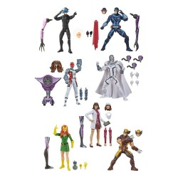 Set 8 Figuras X Men Marvel Legends Build A Figure Tri-Sentinel