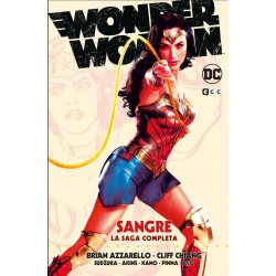Imagén: Wonder Woman Sangre. La Saga Completa