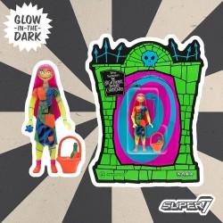 Figura Sally Pesadilla Antes De Navidad Brilla En La Oscuridad ReAction Super7