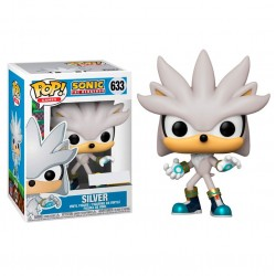 Silver El Erizo Sonic 30 Aniversario POP Funko 633