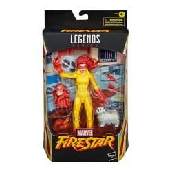 Figura Firestar Marvel Legends 2021
